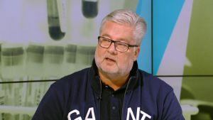 Wadan entinen pääsihteeri Harri Syväsalmi.