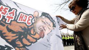 Etelä-Korealainen aktivisti