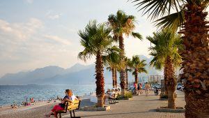 Antalya ranta