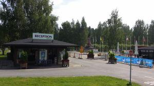 Rauhalahden leirintäalueen vastaanotto