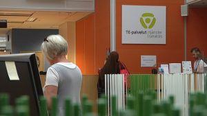 Tampereen te-toimisto, työnhaku, työttömyys