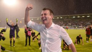Dundalkin päävalmentaja Stephen Kenny.