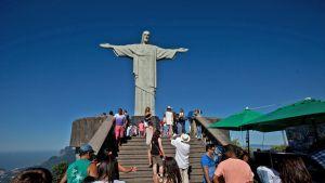 Rio de Janeiron Kristus-patsas