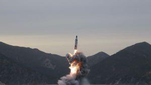 pohjois-korea ohjuskoe