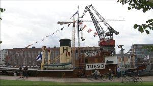 S/S Tursoa esitellään yleisölle Turussa Sigynin vieressä lauantaina 6. elokuuta kello 11-15.