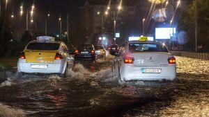 Skopjen kadut tulvivat 6. elokuuta