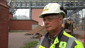 UPM Kymin tehtaanjohtaja Markku Laaksonen