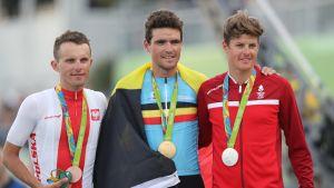 Rion olympialaisissa ei enää jaeta kukkia mitalisteille.