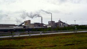 Lannoitevalmistaja Yaran tehtaat Siilinjärvellä.
