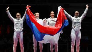 Venäjän säiläjoukkue.