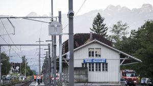 Salez - Sennwaldin juna-asema.