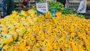 Rion olympialaisten kisamaskotteja.
