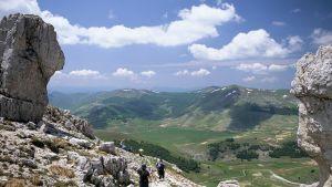 Monti Sibillinin kansallispuisto Umbriassa.
