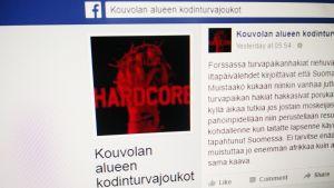Kuvakaappaus Facebook-ryhmästä.