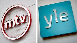 mtv ja yle -logot