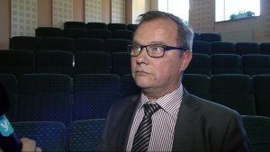 Sallan kunnanjohtaja Erkki Parkkinen.