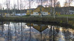 Luonto-opiston entisiä kiinteistöjä Rovaniemen Pöykkölässä.