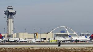 Los Angelesin lentokenttä syyskuussa 2012.