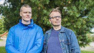 Anttilan työntekijät Mika Heikura Ja Esa Martikainen