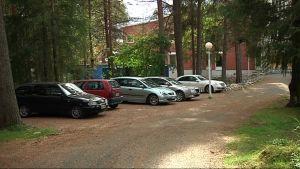Lapin yliopisto uusi parkkipaikka elokuu 2016 Riihipellonpuisto