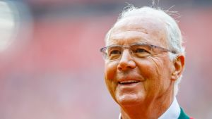 Franz Beckenbauer vuonna 2016.