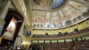 Espanjan väliaikainen pääministeri Mariano Rajoy puhui parlamentille