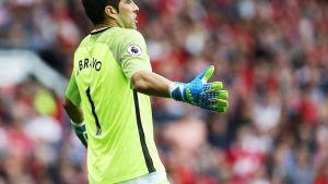 Manchester Cityn maalivahti Claudio Bravo