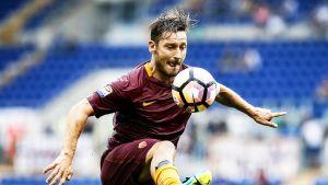 Francesco Totti Sampdoria-ottelussa 11.9. 2016