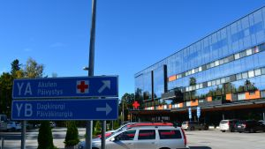 Vaasan keskussairaalan Y-talo.