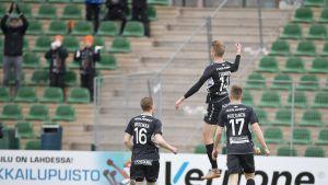 FC Lahden Jasse Tuominen.