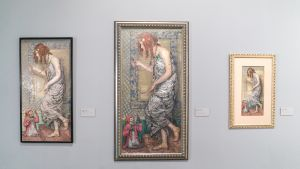 Rozentals oli tunnettu muotokuvistaan. Prinsessa ja apina on yksi hänen kuuluisimmista töistään.