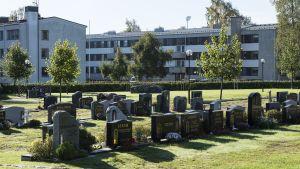 Pietarsaaren hautausmaa.