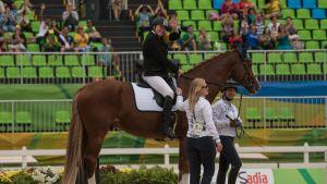 Katja Karjalainen ja High Flow Rion paralympialaisissa