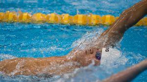 Uimari Antti Latikka Rion paralympialaisissa