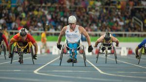 Leo-Pekka Tähti T54-luokka 100m Rio