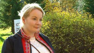 Kolttien luottamusmies Tanja Sanila