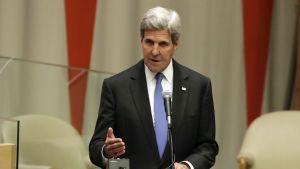 Yhdysvaltain ulkoministeri John Kerry