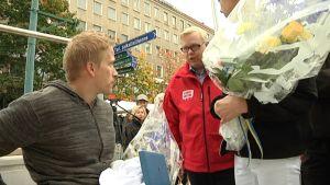 Leo-Pekka Tähti ja Juha Vasama.