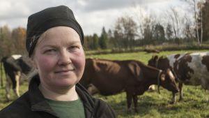 Kaisa Huttunen, lypsytila, maatilan emäntä