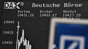 Saksan pörssi.