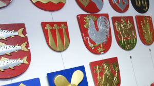 Kuntien vaakunoita vuonna 2010.