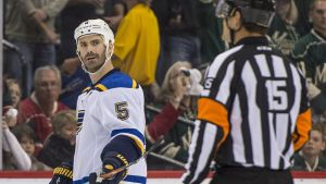 St. Louis Bluesin monivuotinen puolustaja Barret Jackman