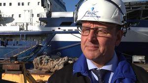 RMC:n toimitusjohtaja Heikki Pöntynen