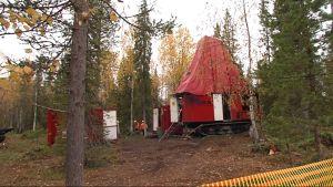 Kairauskone Viiankiaavalla v. 2012