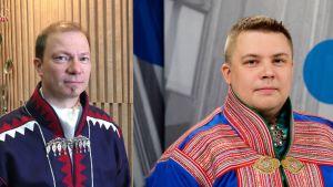Pentti Pieski ja Tuomas Aslak Juuso.