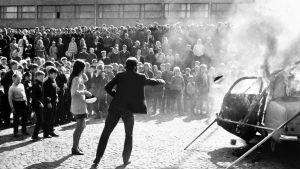 Jyväskylän ylioppilaskunnan auton poltto vuonna 1968