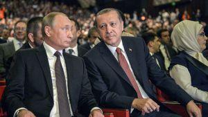Vladimir Putin ja Recep Tayyip Erdogan