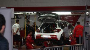 Philippe Bugalskin Citroën pilttuussa.