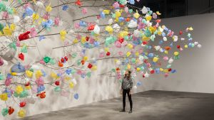 Plastic Tree by Pascale Marthine Tayou.