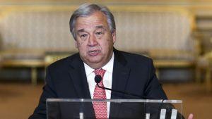 António Guterres Lissabonissa lokakuussa 2016.